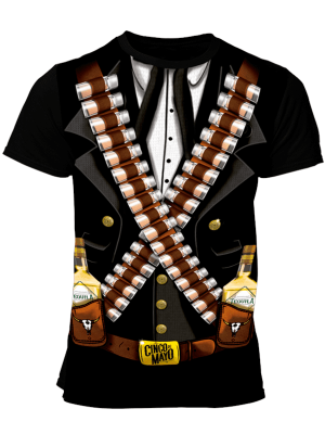 Cinco de Mayo - Sublimated - Tequila Rebel 3D
